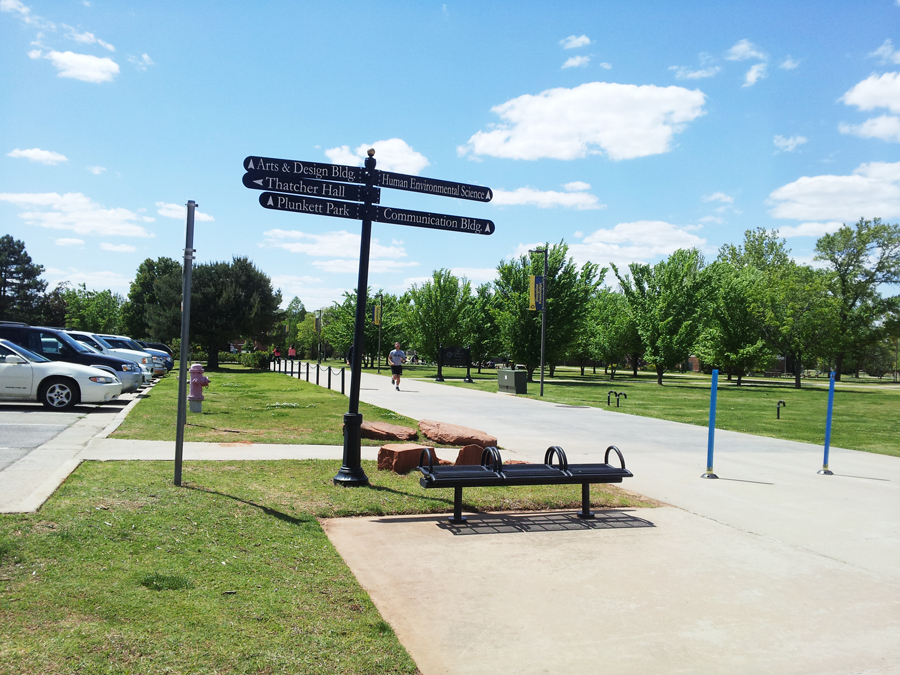 University of Central Oklahoma, 캠퍼스