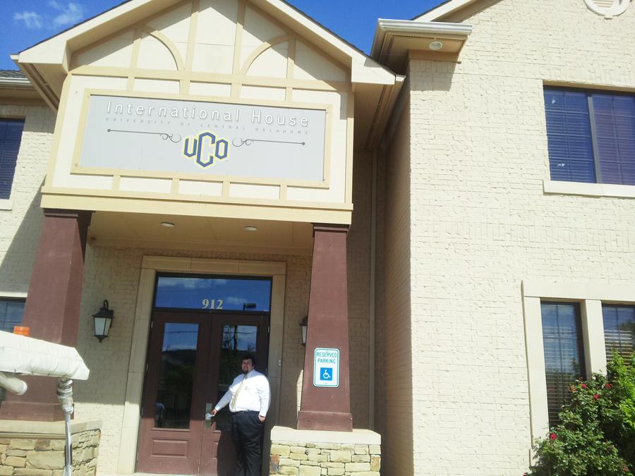 University of Central Oklahoma, International House 외관