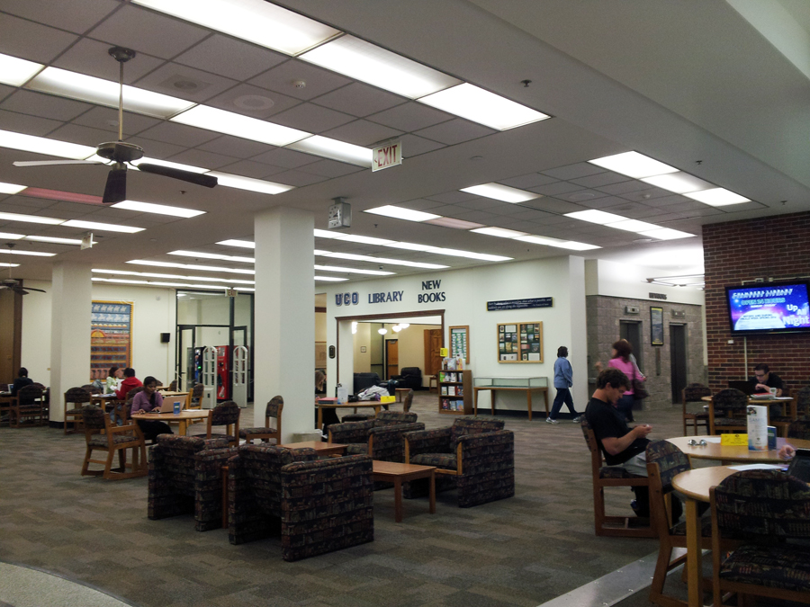 University of Central Oklahoma, 도서관
