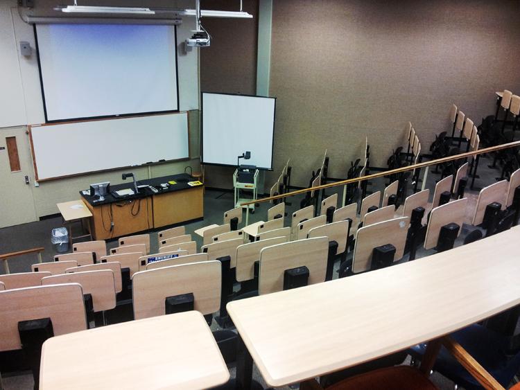 University of Central Oklahoma, Science Building 강의실